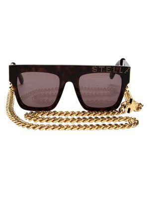 Iconic Flat Top Tortoise Shell Sunglasses