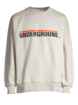 ETUDES STUDIO Underground Logo Crew Sweater