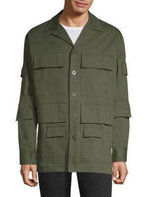 ETUDES STUDIO Main Journey Military Jacket