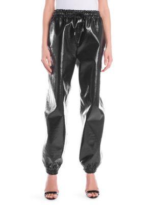 PVC Jogger Pants