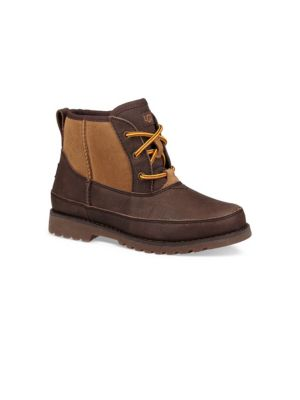 Baby's, Toddler's & Boy's Bradley Suede & Leather Boots