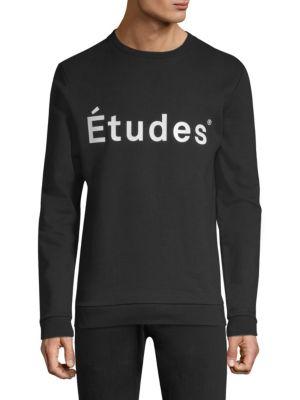 ETUDES STUDIO Story Logo Crew Sweater
