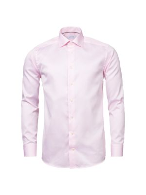 ETON | Slim-Fit Twill Button-Down Shirt | Goxip