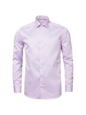 ETON | Contemporary-Fit Twill Button-Down Shirt | Goxip