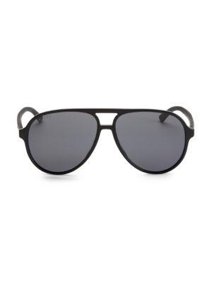60MM Acetate Aviator Sunglasses