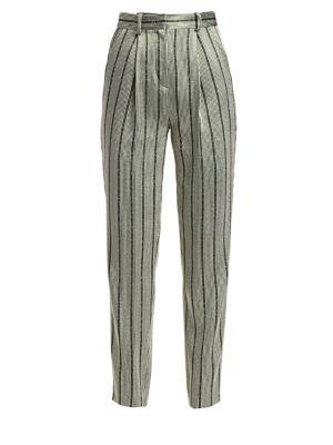 Multistripe Lurex Pants