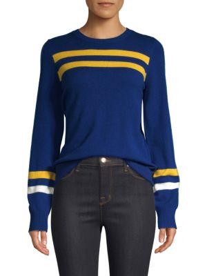 Marlowe Striped Wool & Cashmere Sweater