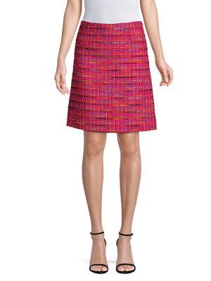 ESCADA SPORT Multicolor Tweed Skirt