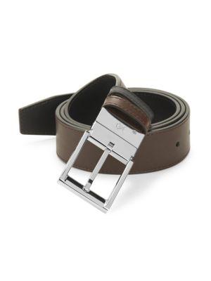 SUTOR MANTELLASSI Sixon Leather Reversible Belt