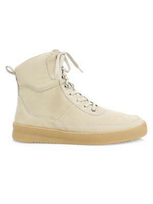 Henson Evora Leather High-Top Sneakers