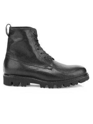 Commander Leather Combat Boots