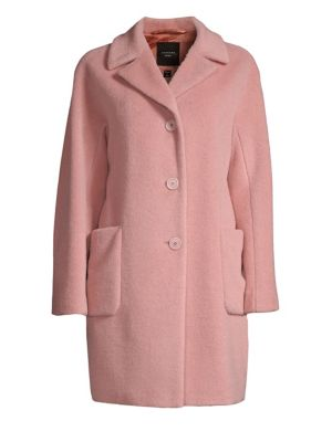 Single-Breasted Alpaca & Wool Coat