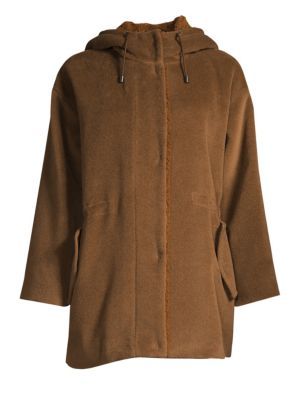 Tauro Wool-Blend Faux-Shearling Lined Jacket