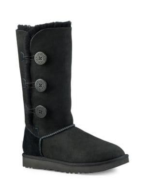Bailey Button Triplet II Sheepskin, Suede & UGGpure Boots