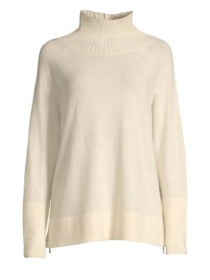 Funnel-Neck Sweater
