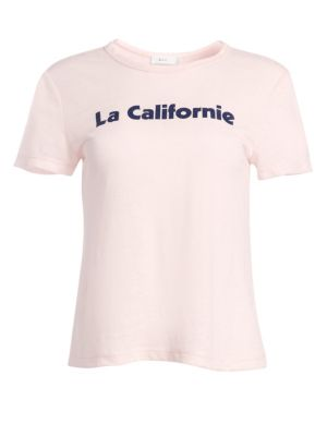 A.L.C La Californie Linen Tee