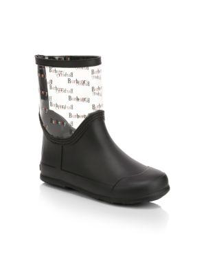 Little Kid's & Kid's Frosty Logo Rain Boots