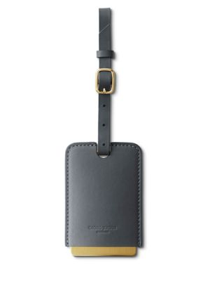 Shades Leather Travel Tag