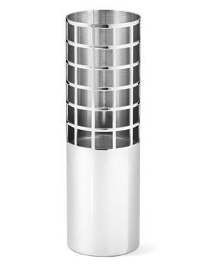 Matrix Stainless Steel Tube Vase