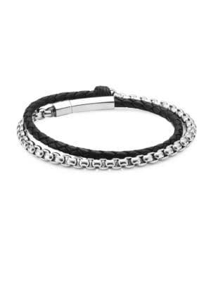 Village Chain Double Wrap Bracelet