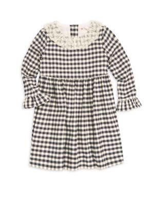 Little Girl's & Girl's Check Dress