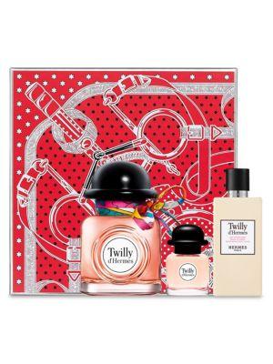 Fêtes En Hermès Twilly D'Hermès Eau De Parfum Three-Piece Gift Set