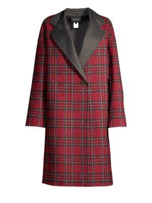 Braylie Plaid Coat
