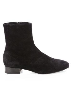 Aslen Suede Flat Boots