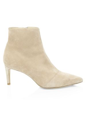 Beha Point-Toe Suede Ankle Boots