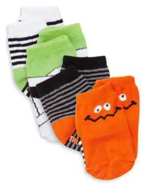 Baby's Four-Piece Halloween Socks Set