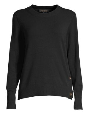 DKNY Horn-Button Sweater