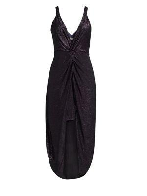 RAMY BROOK Isabella Sparkling Twist Sheath Dress