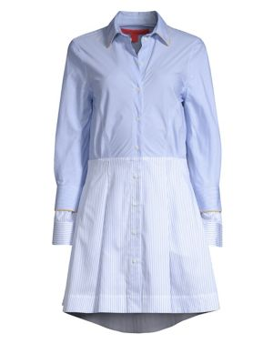 TOMMY HILFIGER COLLECTION Iconic Stripe Shirt Dress