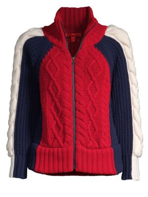 TOMMY HILFIGER COLLECTION High Neck Zip Sweater