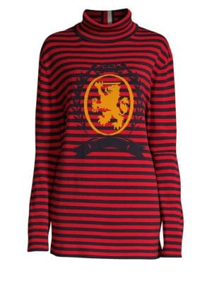 TOMMY HILFIGER COLLECTION Stripe Turtleneck Sweater