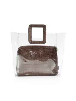 Shirley Croc-Embossed Bag