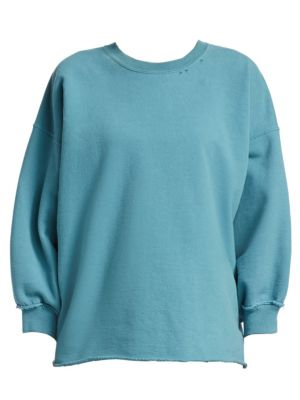 Fond Distressed Crewneck Sweatshirt