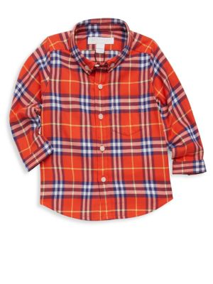 Baby Boy's & Little Boy's Fred Cotton Flannel Shirt