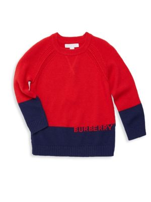 Baby Boy's & Little Boy's Mini Alister Cashmere Sweater