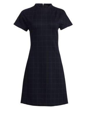 Dolman Short-Sleeve Shift Dress