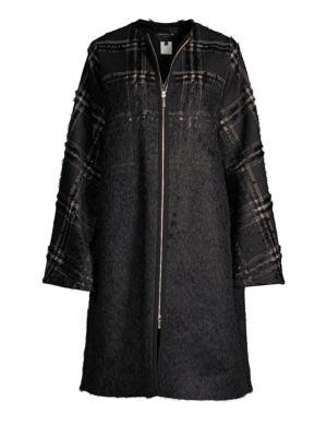 Alverna Plaid Coat