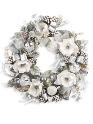 Silver Shimmer Wreath
