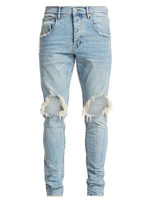 PURPLE Core Ripped Slim Jeans