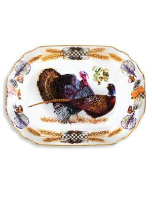 Pheasant Run Turkey Platter