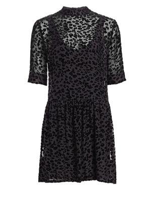 Gia Burnout Mini Dress