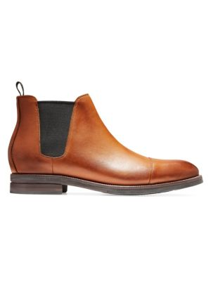 Wagner Grand Leather Chelsea Boots, Mesquite Leather