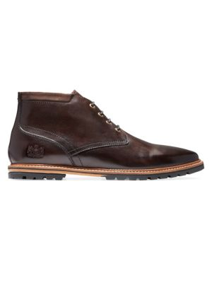 Raymond Grand Chukka Boots, Dark Coffee Leather