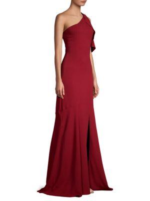 PARKER BLACK Sarah One-Shoulder Gown