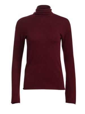 Bell Sleeve Mockneck Top by Theory