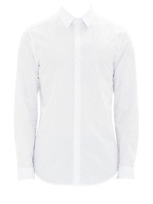 Cedrick Dotted Button-Down Shirt